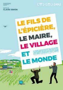 Le fils de l'épicière, le maire, le village et le monde d'Akelarre film documentaire affiche réalisé par Claire Simon