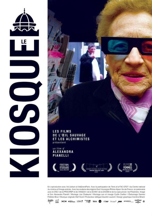 Le Kiosque film documentaire affiche définitive réalisé par Alexandra Pianelli