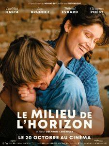 Le milieu de l'horizon film affiche réalisé par Delphine Lehericey