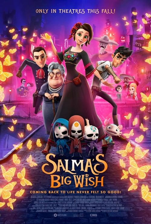 Le monde magique de Salma film animation affiche