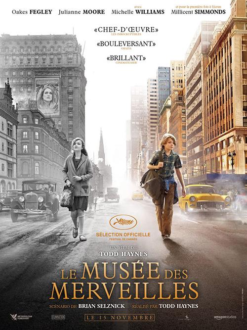 Le musée des merveilles film affiche