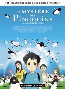 Le mystère des Pingouins film animation affiche