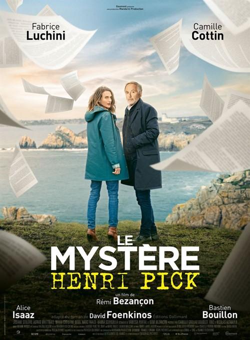 Le mystère Henri Pick film affiche