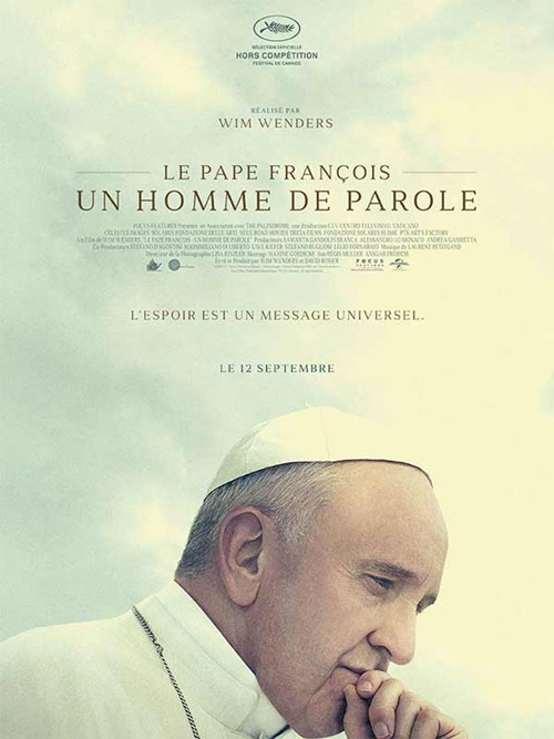 Le pape François documentaire film affiche