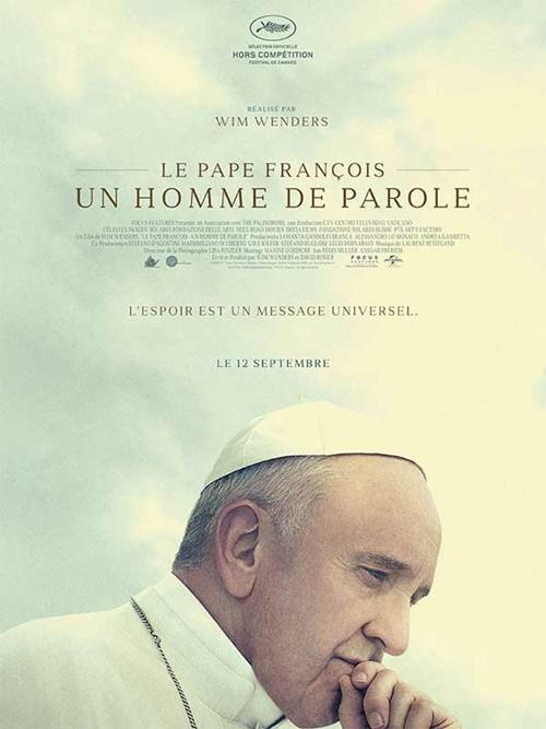 Le pape François documentaire film affiche