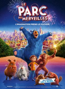 Le Parc des merveilles film animation affiche