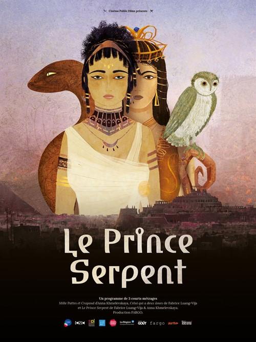 Le prince serpent film animation affiche