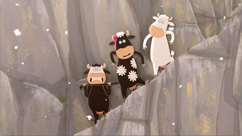 Le Quatuor à Cornes 2 Là-haut sur la montagne film animation