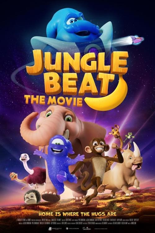 Le Rythme de la jungle - Jungle Beat the movie film animation affiche réalisé par Brent Dawes
