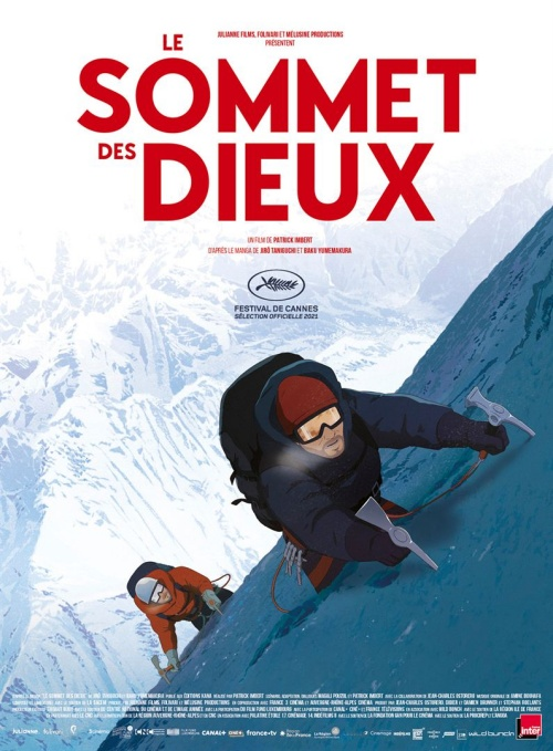 Le sommet des Dieux film animation affiche réalisé par Patrick Imbert