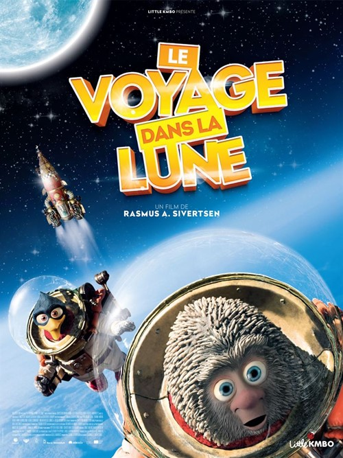 Le voyage dans la lune film affiche