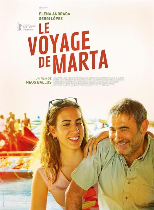 Le voyage de Marta film affiche