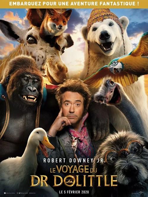 Le voyage du Dr Dolittle film affiche