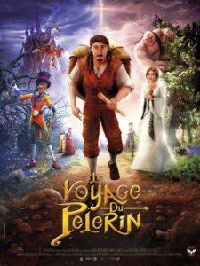 Le voyage du pèlerin film animation affiche