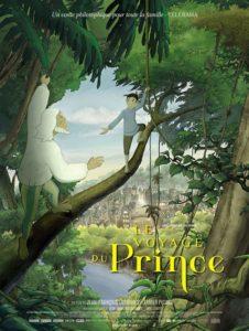 Le voyage du Prince film animation affiche