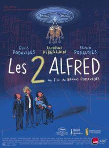 Les 2 Alfred film affiche réalisé par Bruno Podalydès