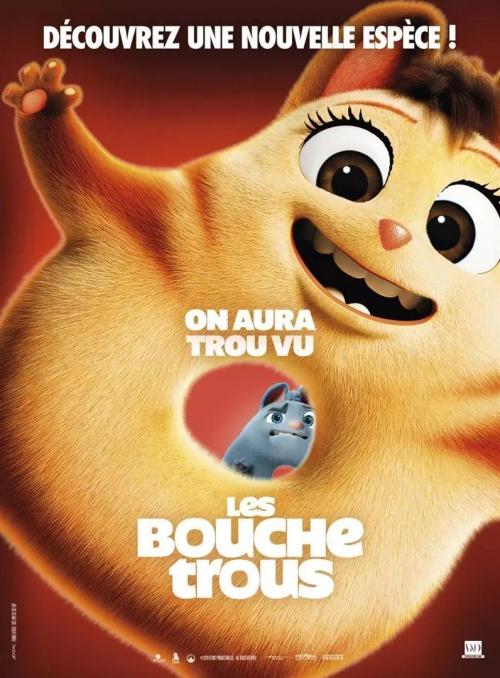 Les Bouchetrous film animation affiche réalisé par David Silverman et Raymond S. Persi