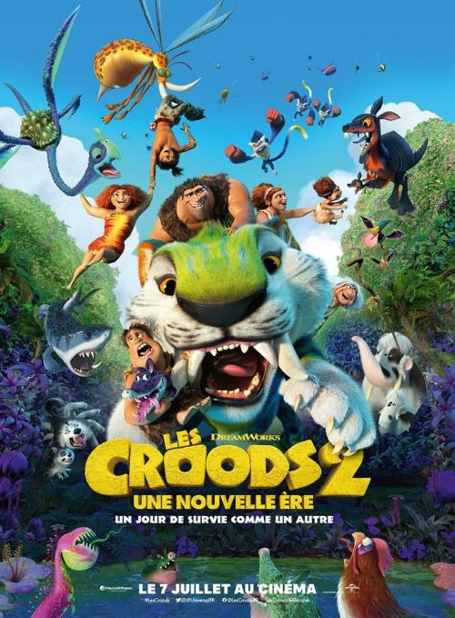 Les Croods 2 : une nouvelle ère film animation affiche réalisé par Joel Crawford
