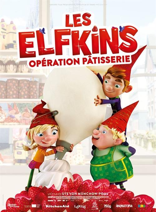 Les Elfkins film animation affiche