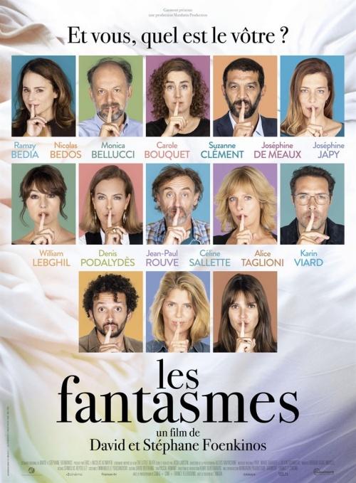 Les Fantasmes film affiche réalisé par David Foenkinos et Stéphane Foenkinos