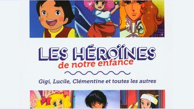 Les Héroînes de notre enfance, livre Ptit Pop