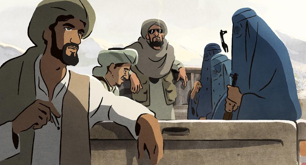 Les hirondelles de Kaboul film animation image