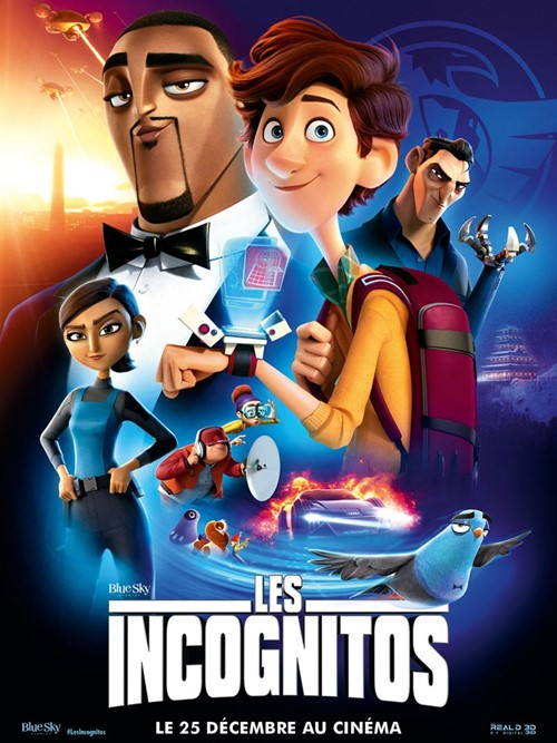 Les incognitos film animation affiche