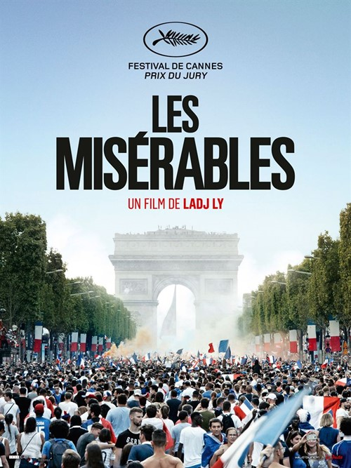 Les misérables (2019) film affiche