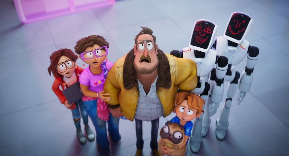 Les Mitchell contre les machines film d'animation animated movie
