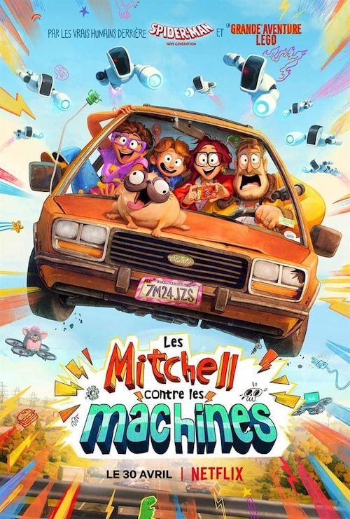 Les Mitchell contre les machines affiche