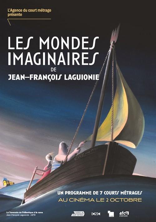 Les mondes imaginaires de Jean François Laguionie film animation affiche