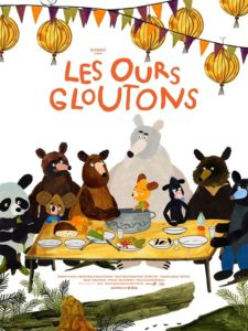 Les ours gloutons film animation affiche