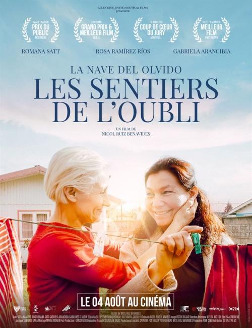 Les Sentiers de l'Oubli film affiche réalisé par Nicol Ruiz Benavides