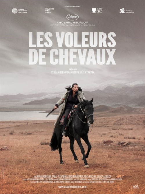 Les Voleurs de chevaux film affiche réalisé par Yerlan Nurmukhambetov et Lisa Takeba