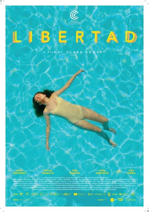Libertad film affiche réalisé par Clara Roquet