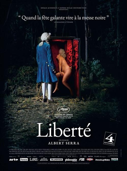 Liberté 2019 Albert Serra film affiche