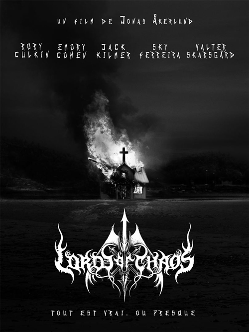 Lords of chaos film affiche