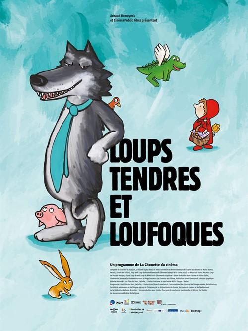 Loups tendres et loufoques film animation affiche