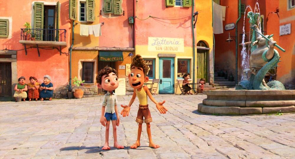 Luca film animation animated movie