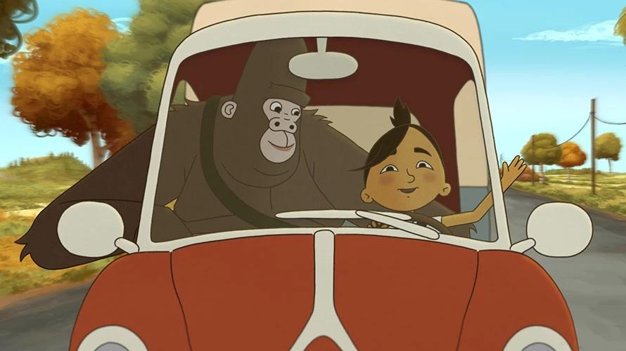 Ma mère est un gorille (et alors ?) film animation animated movie
