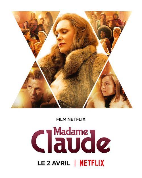 Madame Claude film affiche