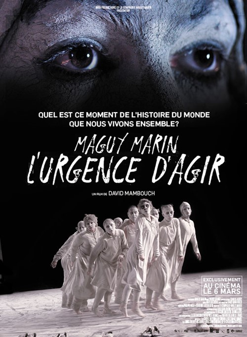 Maguy Marin l'urgence d'agir film affiche