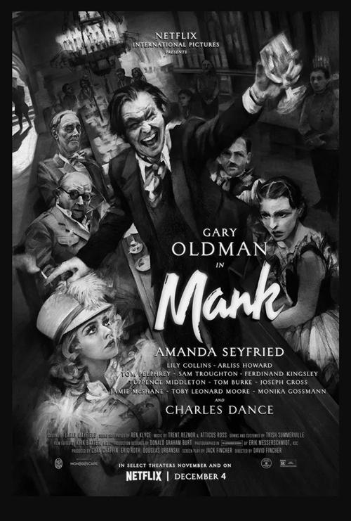 Mank film affiche