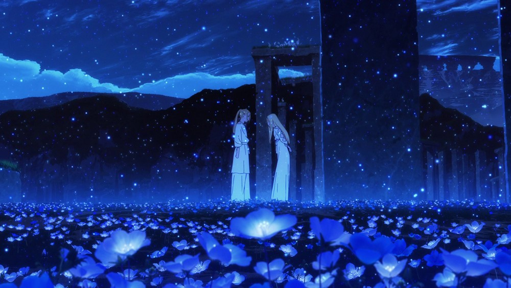 Maquia, when the promised flower blooms film animation image