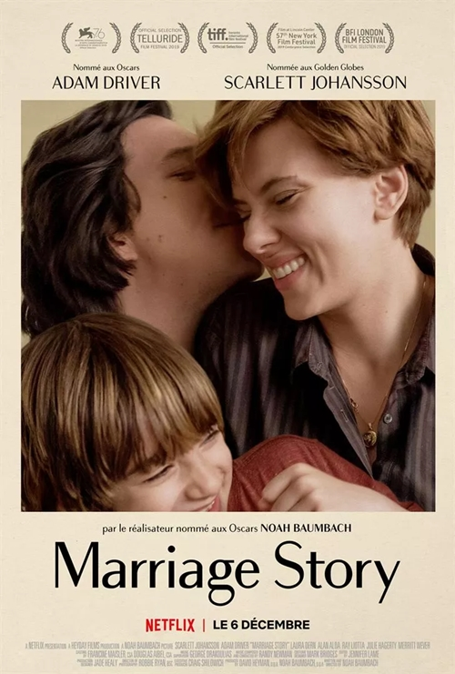 Marriage story film affiche