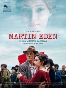 Martin Eden film affiche