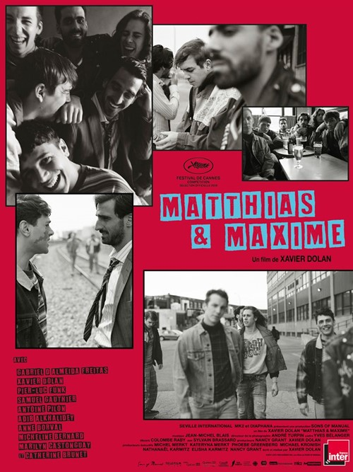 Matthias et Maxime film affiche