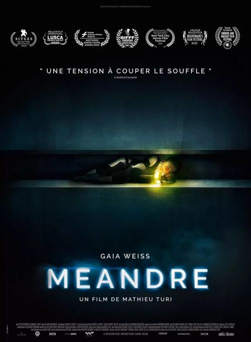 Méandre film affiche réalisé par Mathieu Turi