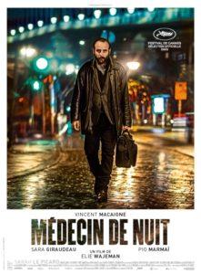 Médecin de nuit film affiche réalisé par Elie Wajeman