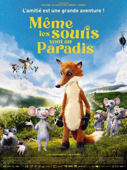 Même les souris vont au paradis film affiche réalisé par Denisa Grimmova et Jan Bubenicek